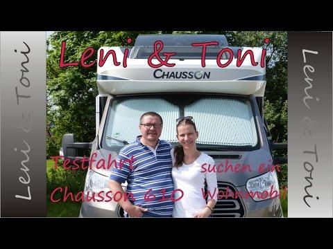 Leni & Toni follow us around: unser Wohnmobil-Test | Chausson 610 |