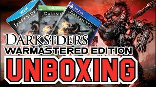 Darksiders Warmastered Edition (Wii U/Xbox One/PS4) Unboxing !!