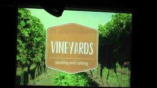 Vineyards: Pruning and Cutting