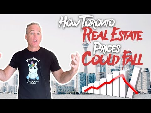 Here's How Toronto Real Estate Prices Could Fall