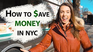 HOW TO SAVE MONEY IN NYC