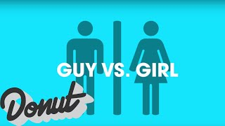 Guy vs. Girl: Cars | Donut Media