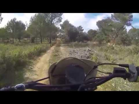 On any saturday..First ride on my 125 Husqvarna WR 1987