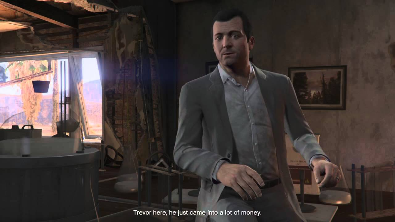 Grand Theft Auto V Michael Sarcasm Rage Youtube