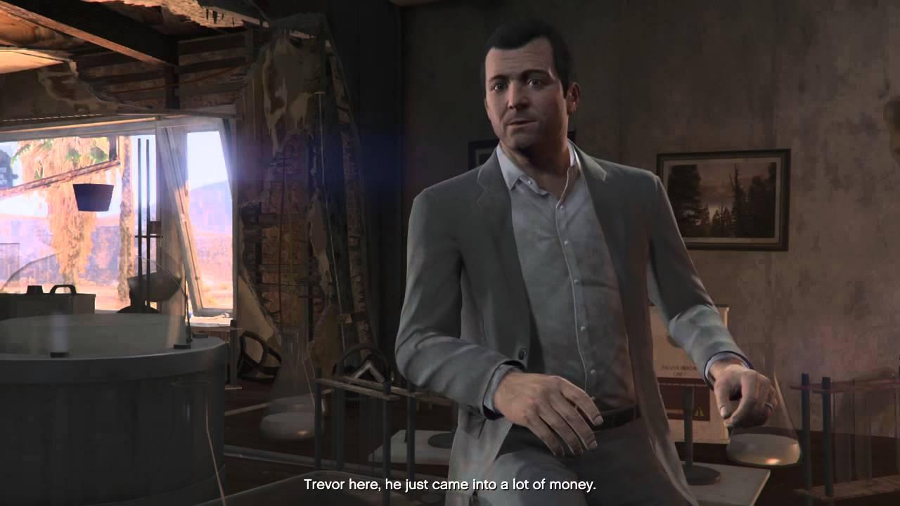 Don Franklin Auto >> Grand Theft Auto V Michael Sarcasm Rage - YouTube