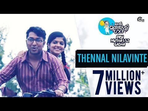 Thennal Nilavinte Karaoke - Oru Muthassi Gadha Malayalam Movie Songs Karaoke