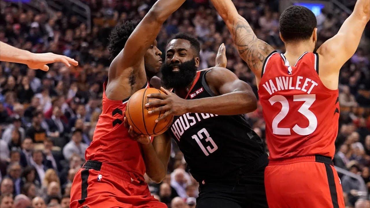 Mclemore Saves Rockets With 8 3s Vs Raptors 2019 20 Nba Season