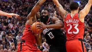 McLemore Saves Rockets With 8 3s vs Raptors! 2019-20 NBA Season