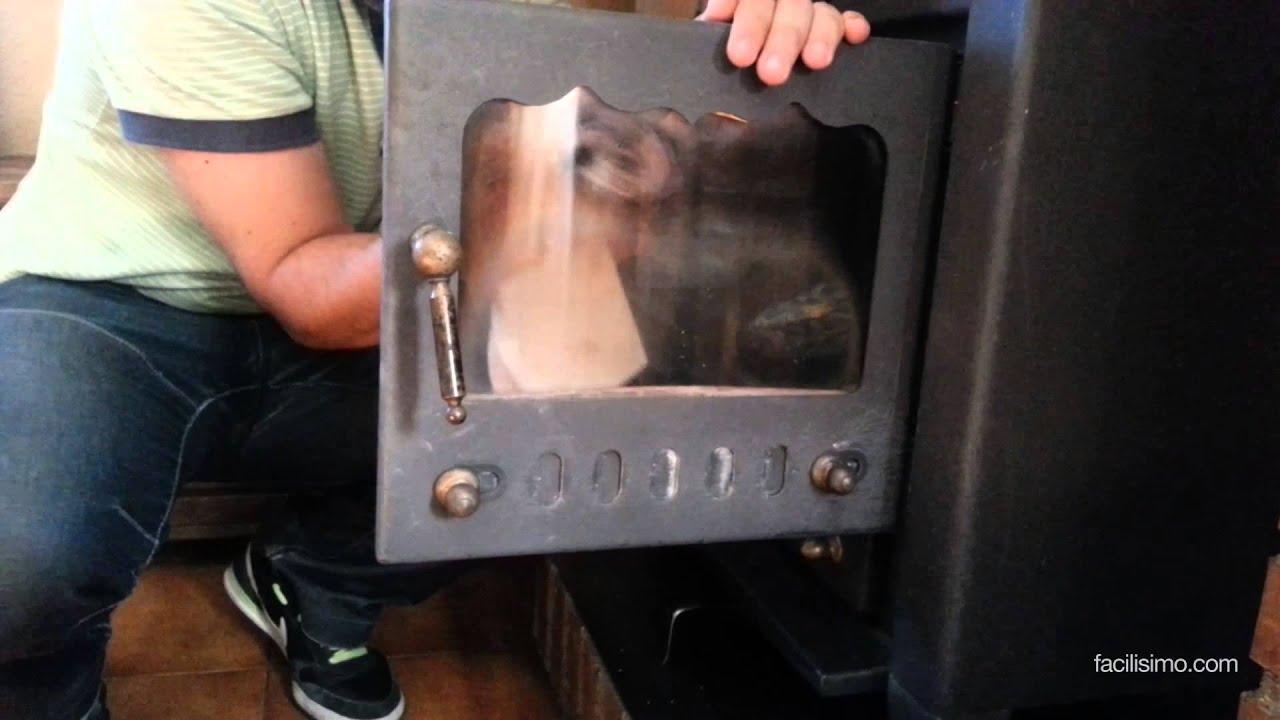 C mo limpiar el cristal de la estufa - Como limpiar chimenea ...