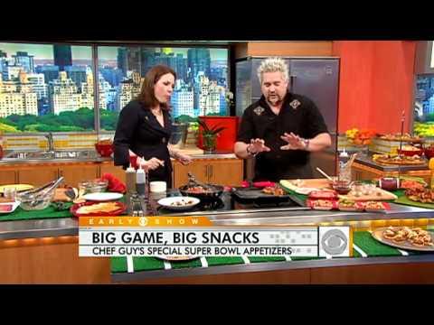 Guy Fieri's Super Bowl Appetizers