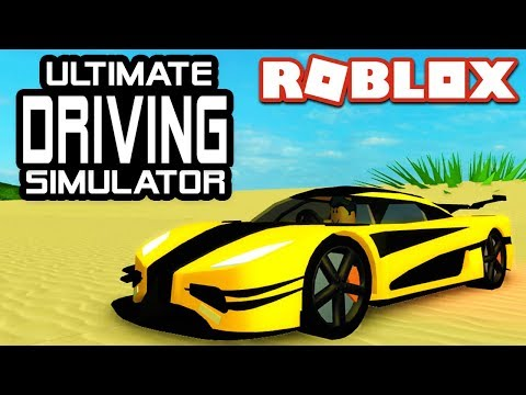 The Ultimate Driving Simulator in Roblox!!