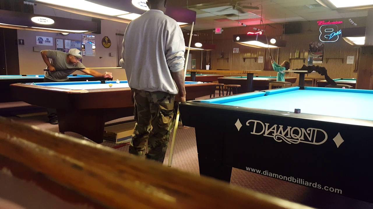 At The Brass Tap And Billiards