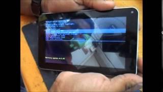 Hard Reset em Tablet Sem Marca