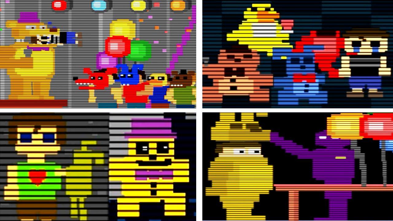 Resultado de imagem para fnaf 4 minigames