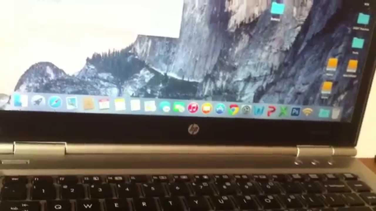 HP Elitebook 8460p Niresh Yosemite - OSx86 10 10 (Yosemite