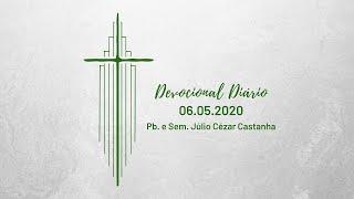 Não deixe que falsas profecias virem pandemia   Devocional com Sem. Júlio Cesar - 06/05/2020