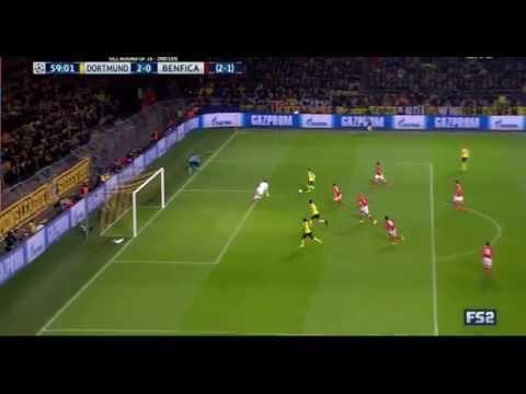 "Download Borussia Dortmund - Benfica 2:0 08|03|2017 GOAL Christian Pulisic 59"""