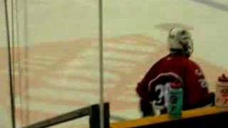 2008 International Sledge Hockey game Canada & USA