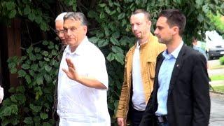 Ilyen egy Fidesz-buli belső viharok idején