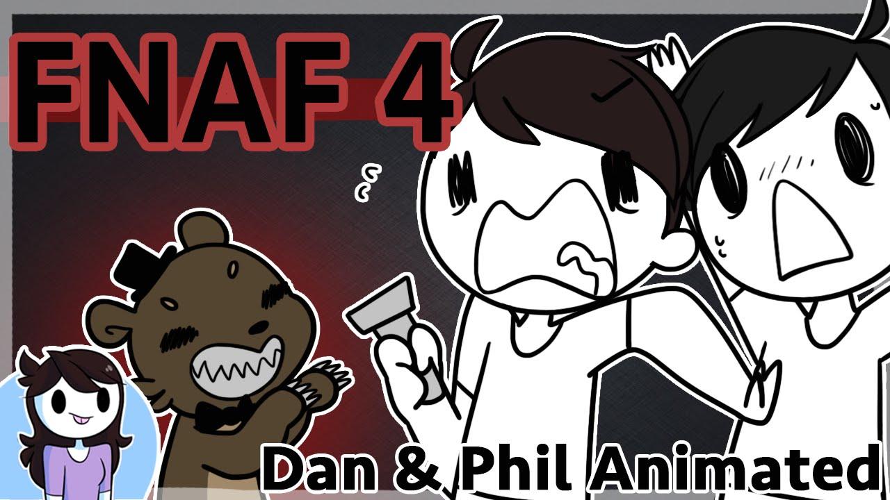 Cute Parakeet Wallpaper Fnaf 4 Dan Amp Phil Animated Youtube
