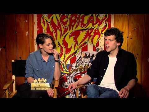 'American Ultra': Full Uncut Interview with Kristen Stewart and Jesse Eisenberg
