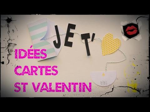 Id es de cartes pour la st valentin scrapbooking vintage - Carte saint valentin a fabriquer ...