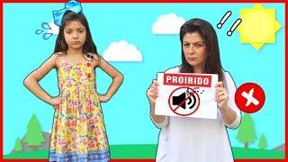 Regras de Conduta para Crianças com a MAMÃE - Rules of conduct for children