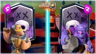 ¡¡ CEMENTERIO EN MAZO RAPIDO VS CEMENTERIO EN MAZO LENTO !! - Clash Royale [WithZack] thumbnail