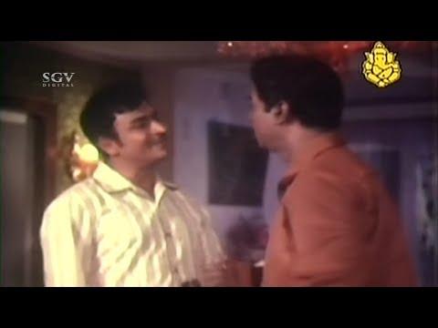 Dr Rajkumar Plan to Save Innocents Hanging from Jail   Bidugade Kannada Movie Best Scenes