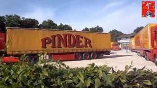 [reportage] Arrivée du cirque Pinder 2014 - planète-cirque -