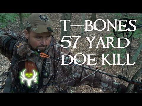 TBone's 57 Yard Doe Kill  Left Over   Season 8