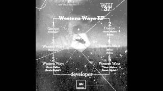 Preview - Developer - Western Ways EP - WU37