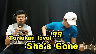 Gambar cover SHE'S GONE COVER - ADLANI RAMBE FT JALIL ARIFIN