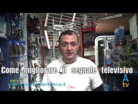 Come migliorare il segnale televisivo