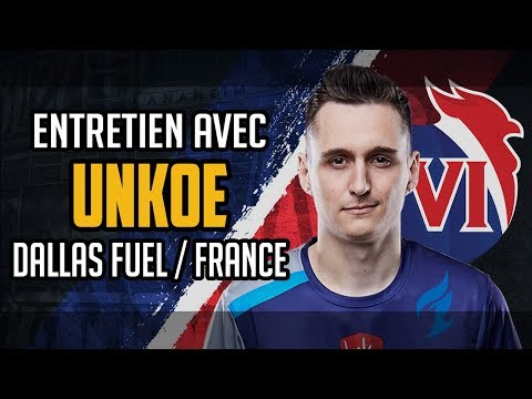with uNKOE : Dallas Fuel support  Team France Overwatch 2018