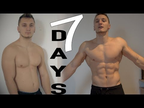 Epic 7 Days Six Pack Transformation ( Easy Diet )