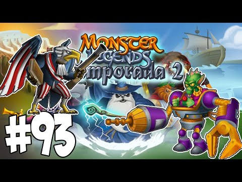 Monster Legends T2 - Capitulo 93 - Freedom Feather y Exo Skeel