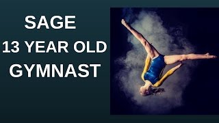 Amazing gymnast sage!