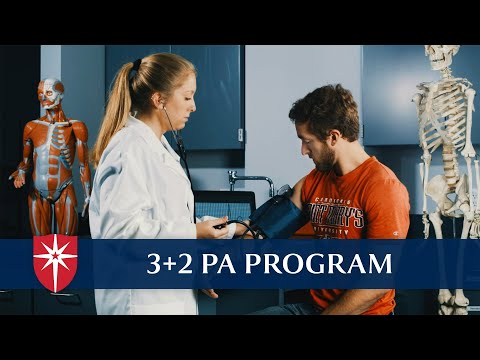 3 + 2 Physician Assistant Program
