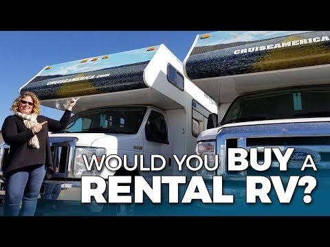 CRUISE AMERICA SELLS USED RENTAL RVs? Thor Majestic 28A Motorhome Tour