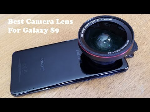 buy popular d9b59 f9946 Best Camera Lens Kit For Samsung Galaxy S9 / S9 Plus - Fliptroniks.com