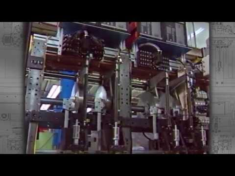 High-Speed Automated Assembly Machines In Motion