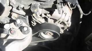 Kia Ceed замена Приводного ремня навесного оборудования .Замена ролика натяжителя Киа Сид