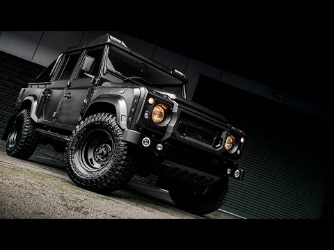 land rover defender 110 pickup by chelsea truck company youtube