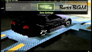 Nfsu2 - Fastest car made ever - Ford Mustang 670BHP