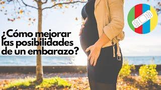 ¿Cómo mejorar las posibilidades de un embarazo?
