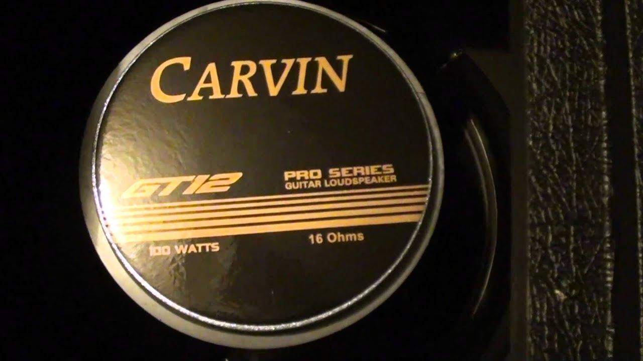 carvin 2x12 speaker cabinet youtube. Black Bedroom Furniture Sets. Home Design Ideas