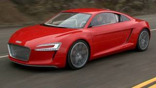 Audi e-tron concept electric car