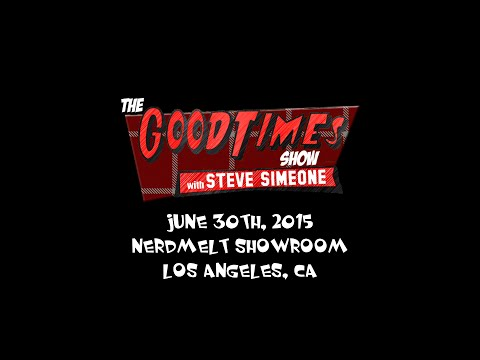 The Good Times Show w/ Steve Simeone, Rowdy Roddy Piper, and Darren Carter
