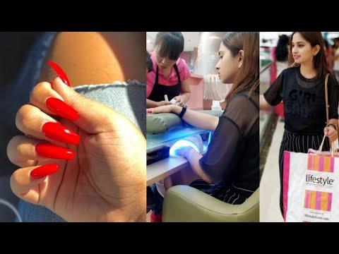 I Got Gel Nail Extensions - Step by Step